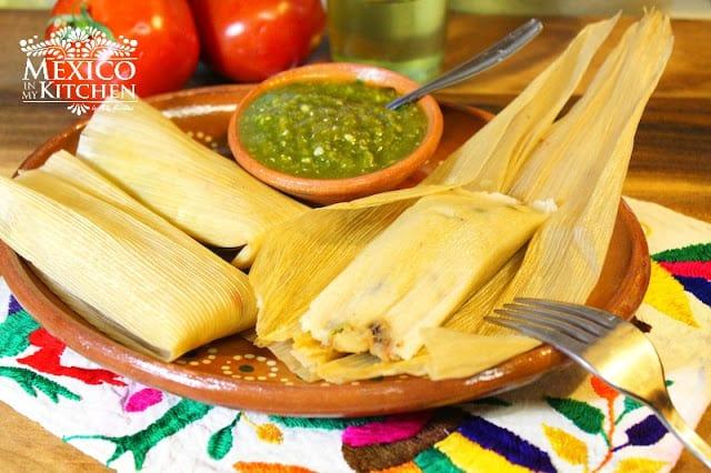 Healthier tamales