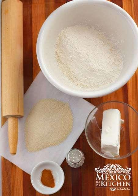 Hojarascas recipe receta