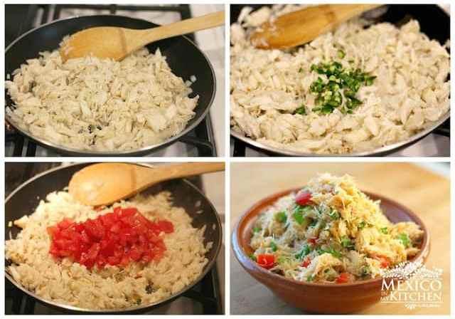 Crab empanada recipe