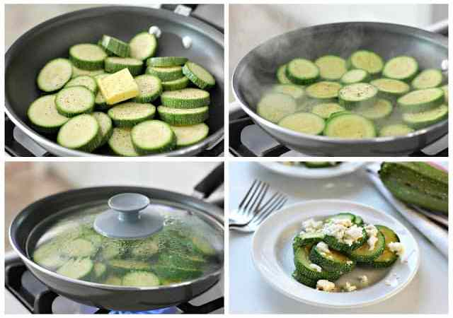 Steamed squash easy recipe