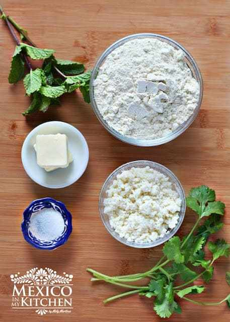 Bocoles, corn masa cakes recipe