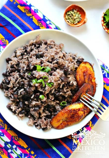 moros y cristianos black beans and rice recipe
