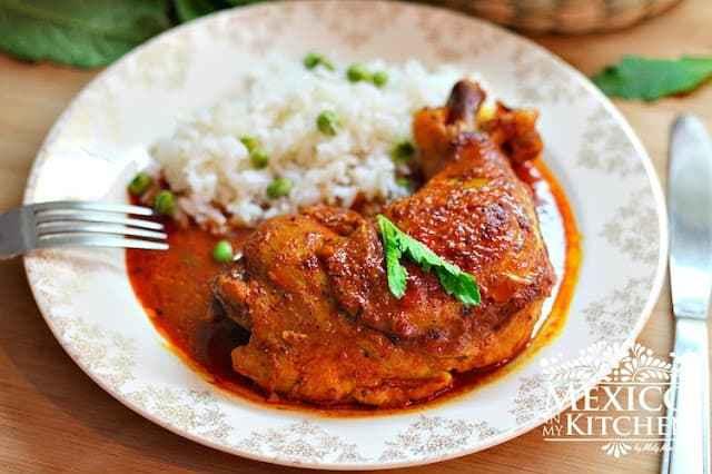 Pollo Pibil, Yucatan style Chicken with Achiote paste recipe