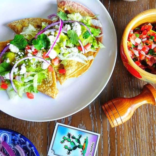 Chorizo potato crispy tacos