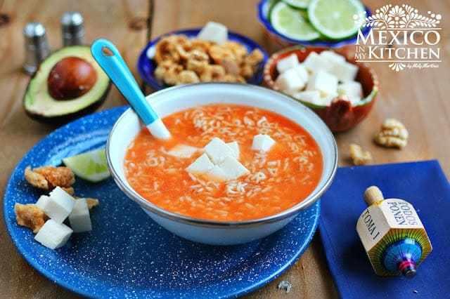 Alphabet Soup Recipe  - Receta de Sopa de Letras