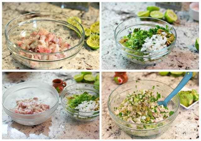 Ceviche verde, delicious recipe