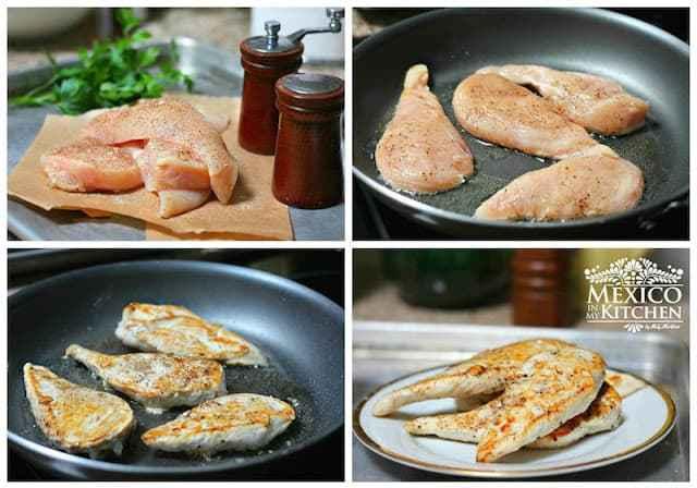 Creamy Chipotle Chicken Breast Recipe process