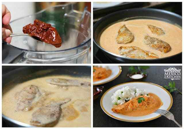 Creamy Chipotle Chicken Breast the sauce is very delicious, you can also use it over pasta.