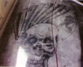 Los tatuajes de Hugo Alberto Wallace