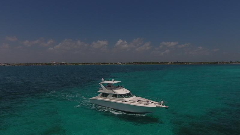 Searay 55 Isla Contoy