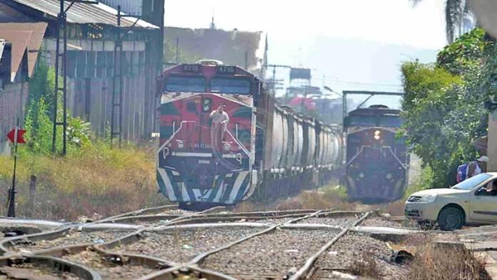 Sin mayor afectación transporte de mercancías en vías férreas