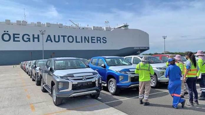 Mitsubishi Motors firma acuerdo de importación en el Puerto Lázaro Cárdenas