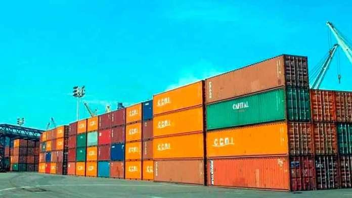 Disminuye 13.2% carga en puertos