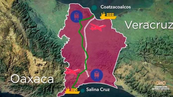 Listos, tres predios para polos de desarrollo en el Istmo de Tehuantepec