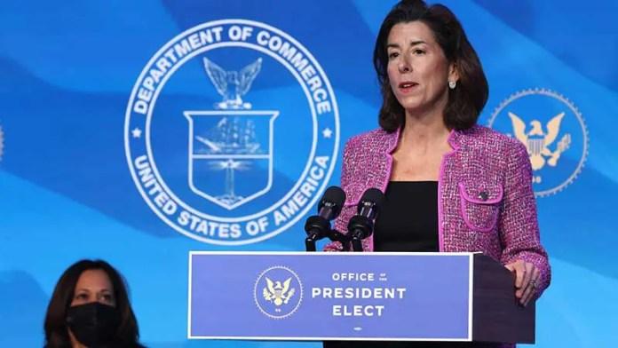 Senado de EU ratifica a Gina Raimondo como secretaria de Comercio