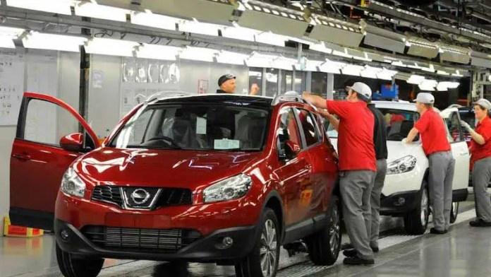 Aumentan 70% exportaciones de vehículos ligeros de Nissan