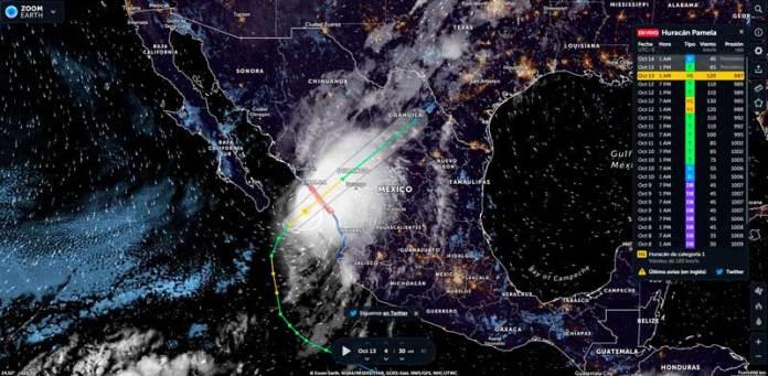 Cierran estos puertos del Pacífico mexicano por aproximación de Pamela