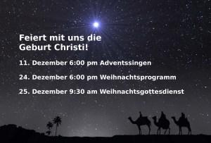 weihnachtsstunden