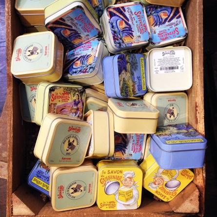 lavender soaps in Nimes