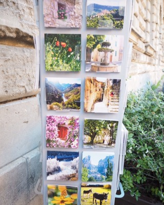 postcards of Avignon