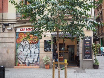 some colorful bar in Raval