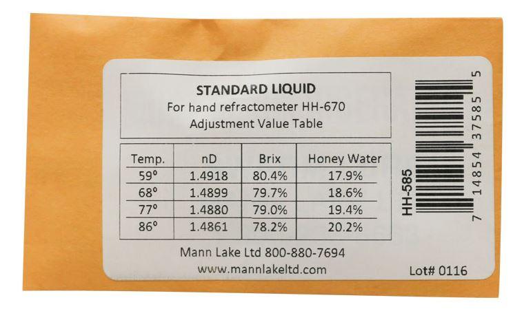 calibration fluid