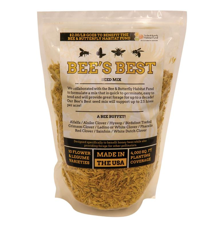 bees best pollinator seed mix
