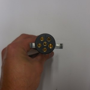 6 Way Male Plug