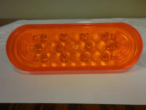 Oval LED Auxillary Light