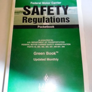 Federal Motor Carrier Safety Regulations Book