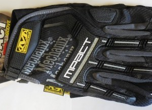 Mechanix Impact Glove Large Black/Gray