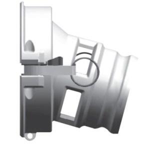 "API Coupler to 4"" Male Cam Lock"