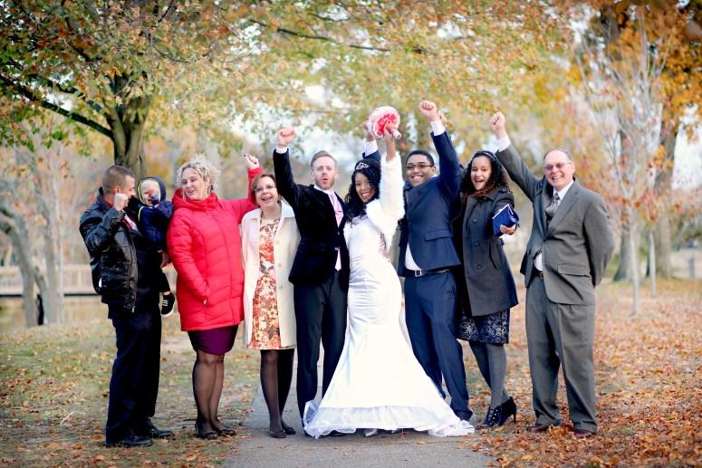 Wedding Photo Spring Lake Park in NJ