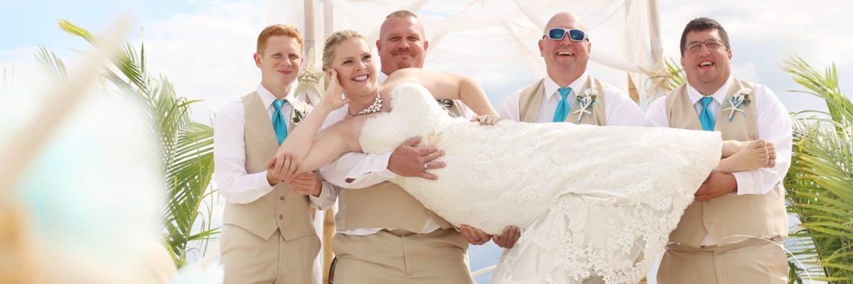 beach wedding cape may