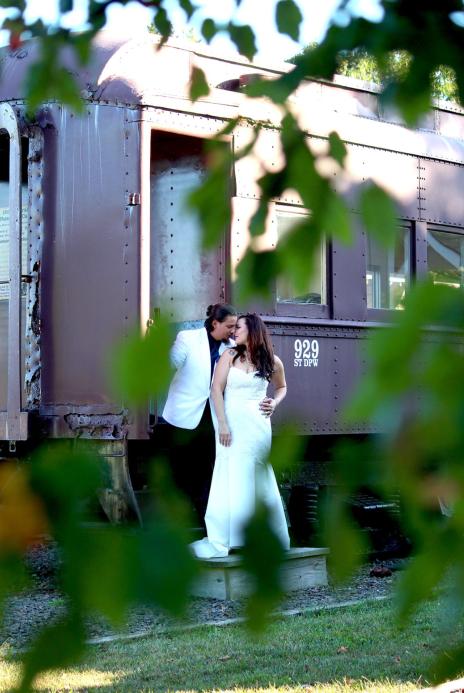 wedding train photos manahawkin