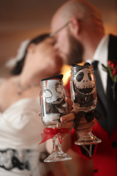 nightmare before christmas wedding