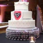 superman wedding cake chocolate carousel