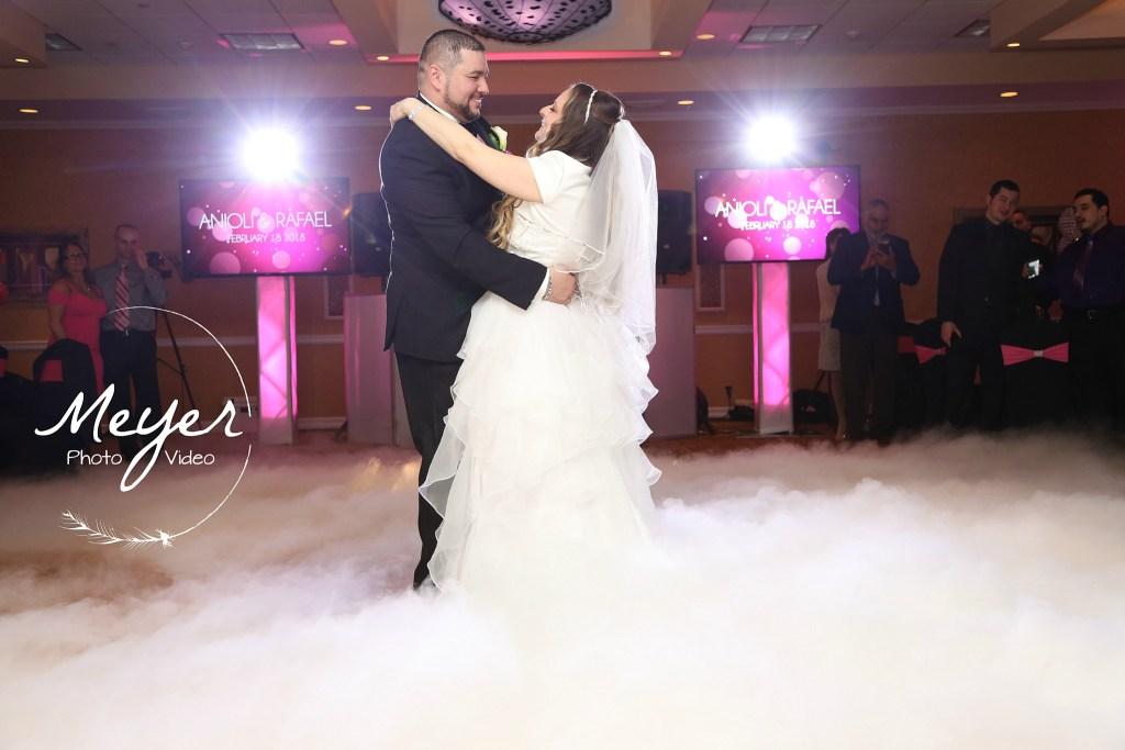 atlantis ballroom reception wedding