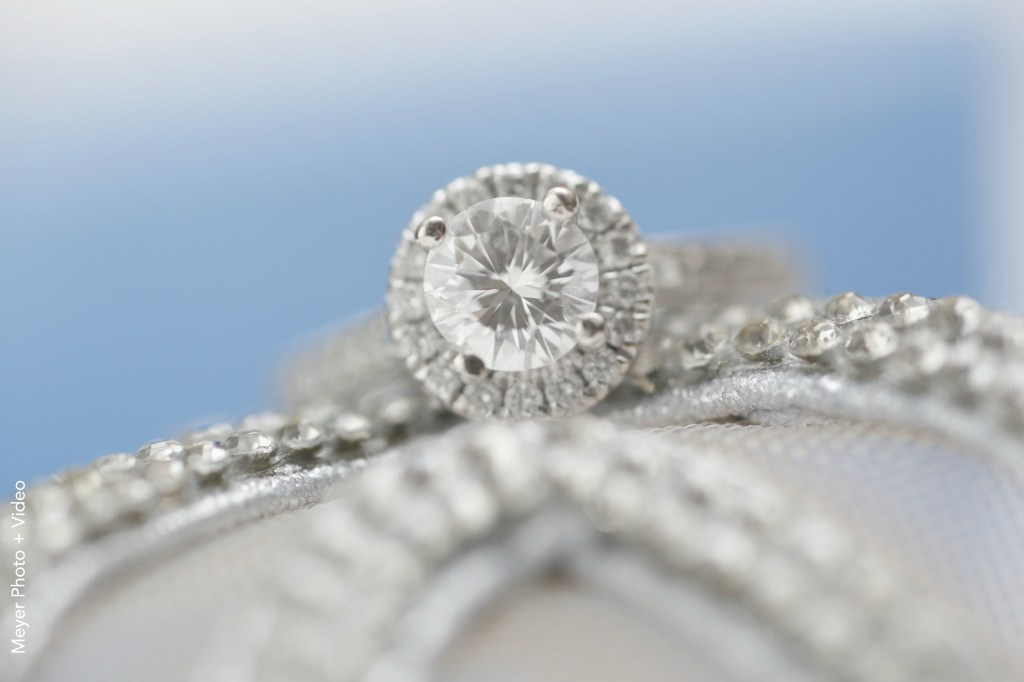 closeup of a ring