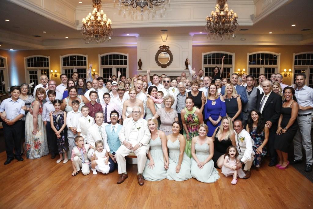 greek wedding party