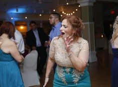 bridesmaid dancing