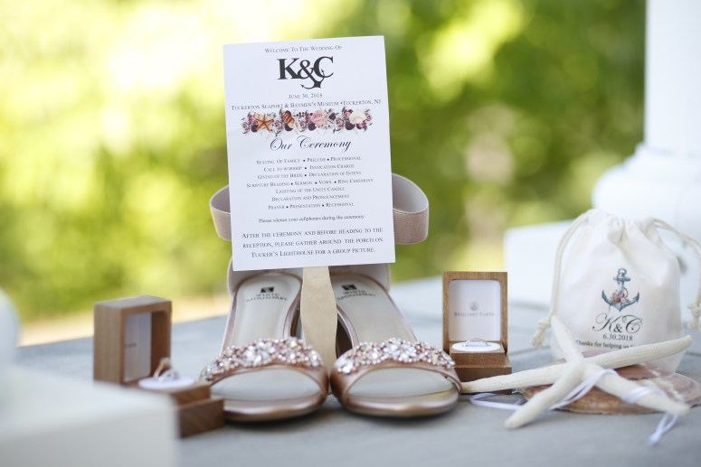 wedding ceremony welcome card
