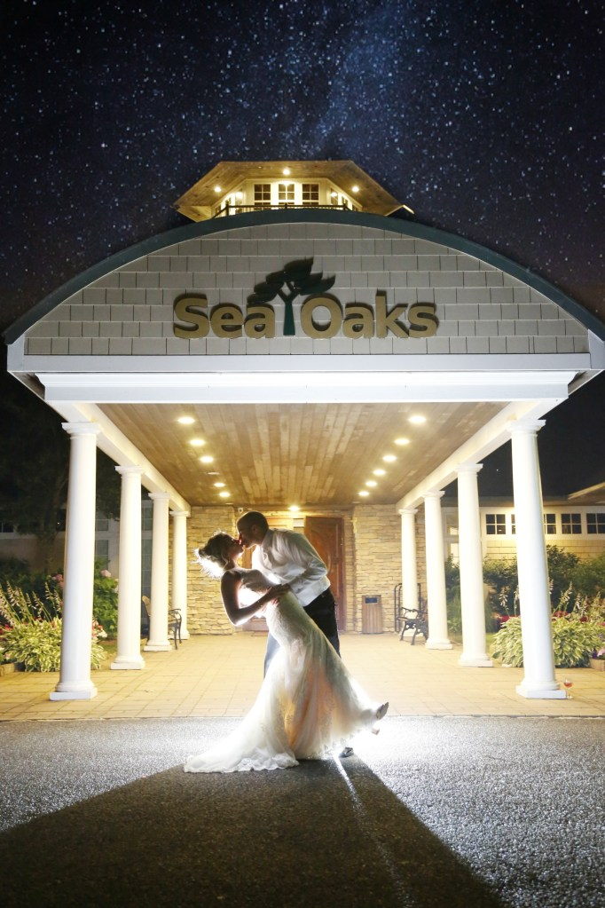 sea oaks country club wedding