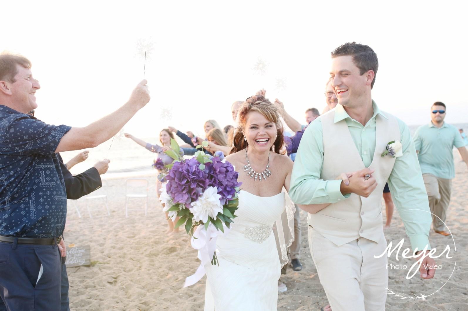 NJ Wedding Photographers beach weddng