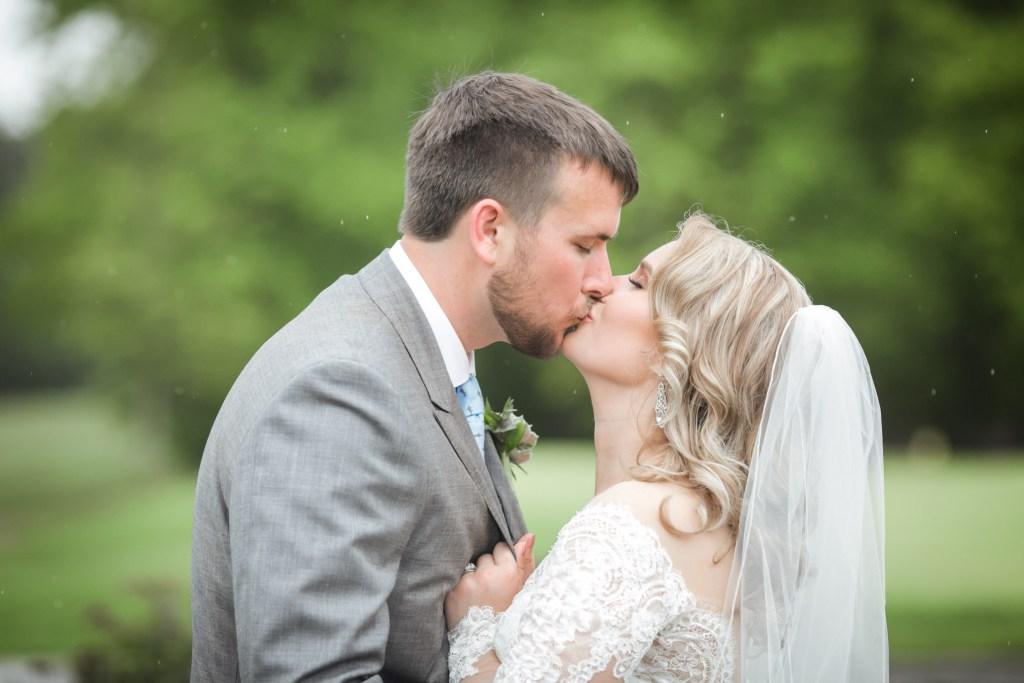 Ashley and matt kissing