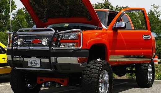 bigstock-Chevy-truck-33325190