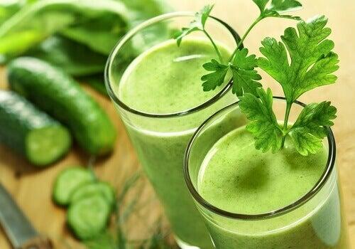 Πράσινο χυμό για να ξεκινήσετε την ημέρα σας