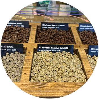 Selección de cafés