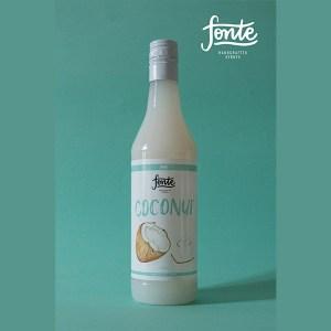 Fonte Coconut Syrup Meza Coffee