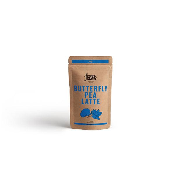 Fonte Butterfly Pea Latte Meza Coffee
